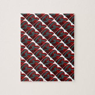 Tri Color Block Jigsaw Puzzle