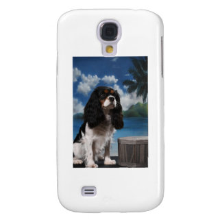 Tri color Cavalier King Charles Spaniel Galaxy S4 Covers