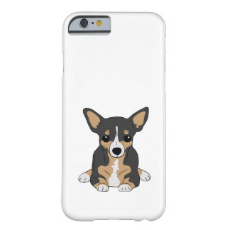 Tri-Color Chihuahua Cute Black Brown White Barely There iPhone 6 Case