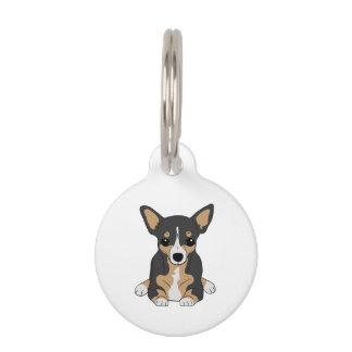 Tri-Color Chihuahua Pet ID Tag