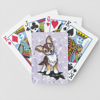 Tri Color Chihuahua Playing Cards