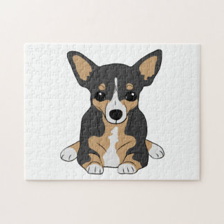 Tri-Color Chihuahua Puzzle