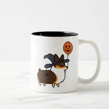 Halloween Themed Tri-Color Corgi Halloween Mug | CorgiThings