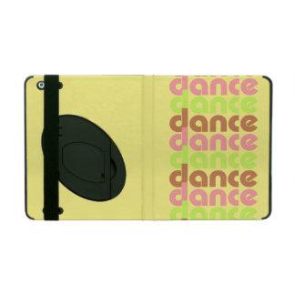 Tri-Color Dance iPad Folio Case