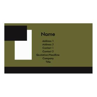 Tri-Color Deco4 Business Card