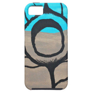 Tri-Color Peacock Feather iPhone 5 Cover