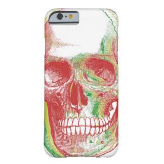 Tri-color Rasta Skull Barely There iPhone 6 Case