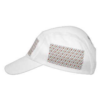 Tri Color Roses Wallpaper Pattern Headsweats Hat