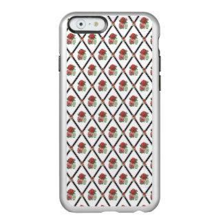 Tri Color Roses Wallpaper Pattern Incipio Feather® Shine iPhone 6 Case