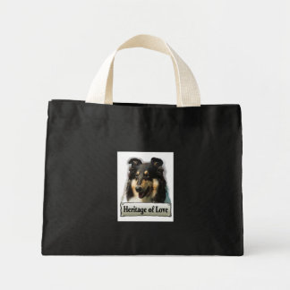 Tri Color Rough Collie Gifts Mini Tote Bag