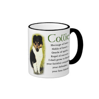 Tri Color Rough Collie Gifts Mug