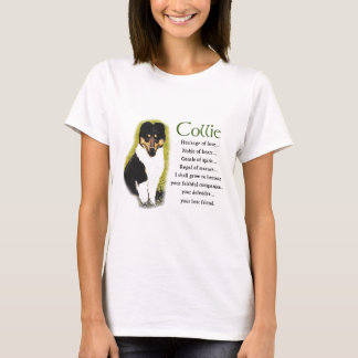 Tri Color Rough Collie Gifts T-Shirt