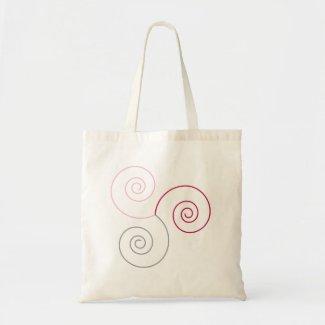Tri-Color Spiral of Life copy bag