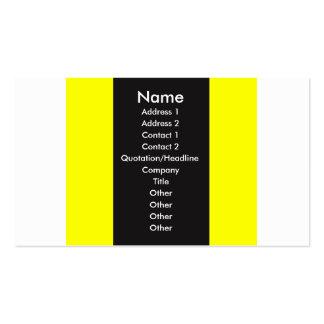 Tri-Color Stripes3 Business Card