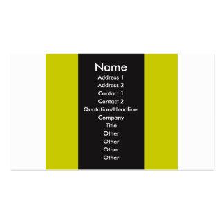 Tri-Color Stripes4 Business Card
