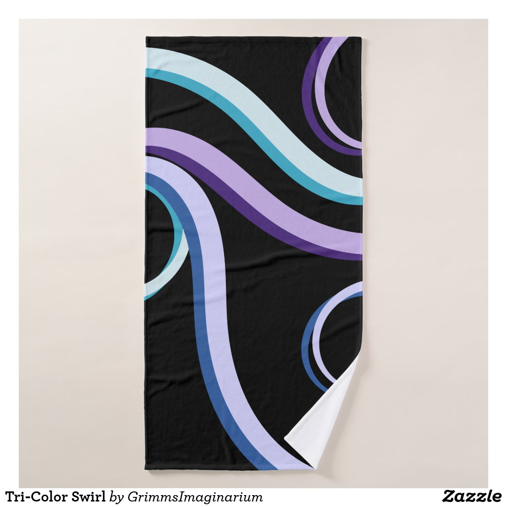 Tri-Color Swirl