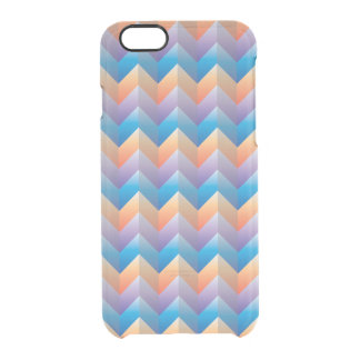 Tri-color Zigzag iPhone 6/6S Clear Case Uncommon Clearly™ Deflector iPhone 6 Case