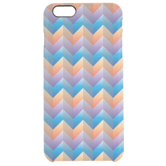 Tri-color Zigzag iPhone 6/6S Plus Clear Case Uncommon Clearly™ Deflector iPhone 6 Plus Case