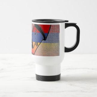 Tri-Colored Tin Man Mugs