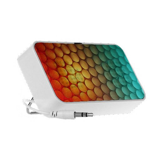 Tri-Colour Dots -  - iPod/iPhone/MP3 Speakers
