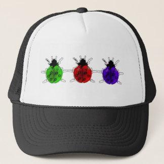Tri-Colour Lady Bug Trucker Hat