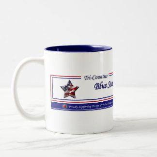 Tri Counties Blue Star Moms - Cust... - Customized Two-Tone Coffee Mug
