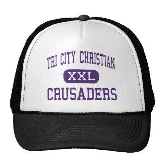 Tri cristiano de la ciudad - cruzados - Kansas Cit Gorra