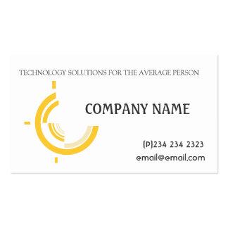 Tri de alta tecnología del negocio de encargo plantilla de tarjeta personal