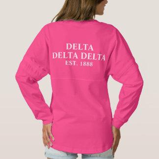 Tri Delta Yellow Letters