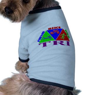 TRI diseño de la PIRÁMIDE del funcionamiento de la Camisas De Perritos