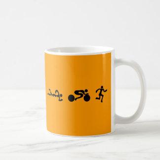 TRI diseño de parachoques NEGRO funcionado con de Taza De Café