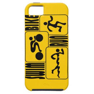 TRI diseño del Triathlon iPhone 5 Case-Mate Protector