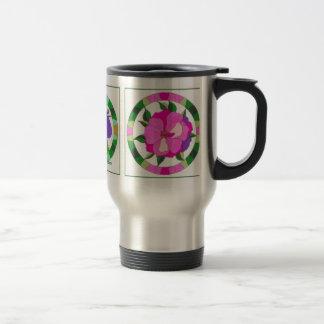 Tri Floral Travel Mug
