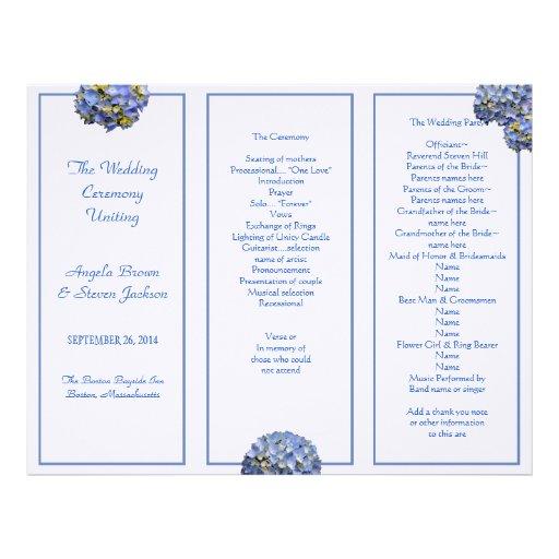 tri fold wedding invitations falling leaves fold wedding program