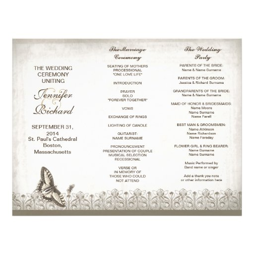 Search Results For Wedding Program Templates Calendar 2015