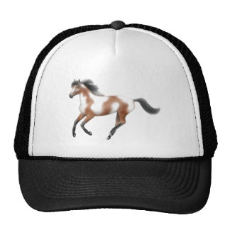 Tri gorra del caballo de la pintura