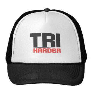 Tri Harder Hat