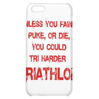 Tri Harder Case For iPhone 5C