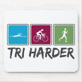 Tri Harder (Triathlon) Mouse Pad