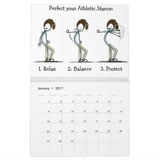 Tri-ing to be Athletic calendar