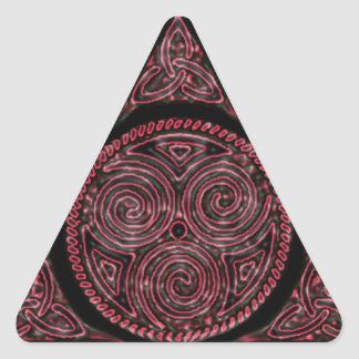 Tri-Isis Triangle Sticker