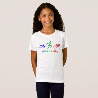 Tri Like A Girl Triathlon Gear T-Shirt