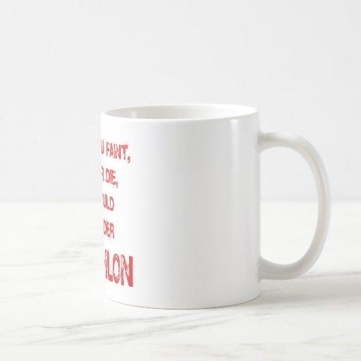 Tri más duro taza básica blanca