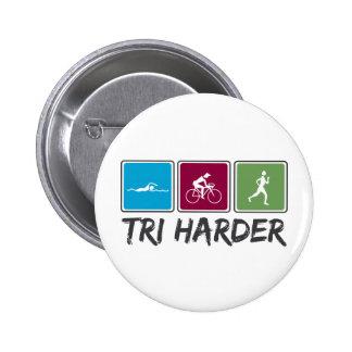 Tri más duro Triathlon Pins