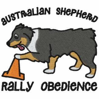 Tri obediencia australiana de la reunión del pasto sudadera con serigrafía
