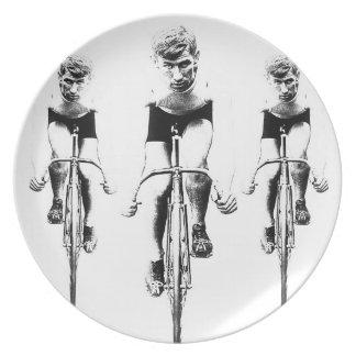 Tri opcDesign del ciclista Platos De Comidas