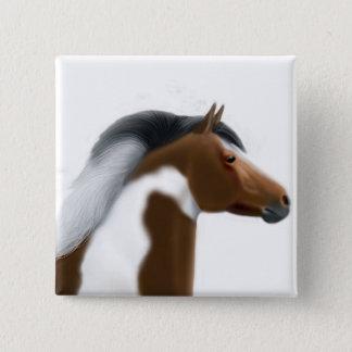 Tri Paint Horse Pin
