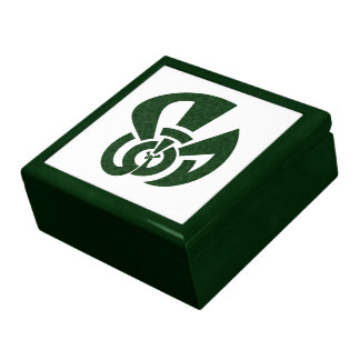 Tri-Point Celtic Knot - Peacock Shape Gift Box