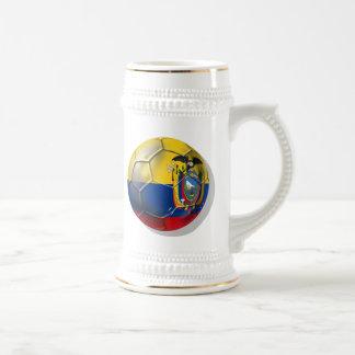 Tri regalos de la bola del futbol del fútbol de Ec Jarra De Cerveza