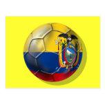 Tri regalos de la bola del futbol del fútbol de postal